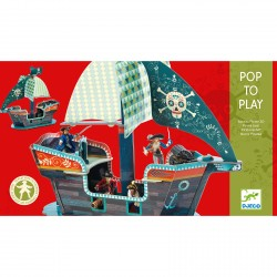 BARCO PIRATA 3D POP TO PLAY