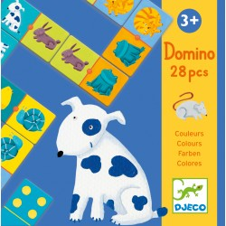 DOMINO ANIMALES COLORES
