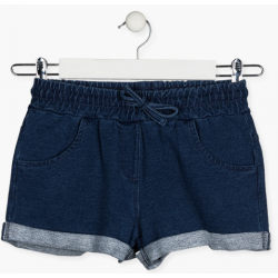 SHORT DENIM FELPA